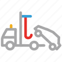 car lifter, car lifting, lifter, lifting truck icon