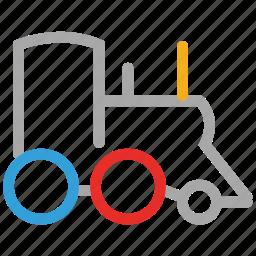 engine, train, train engine, travel icon
