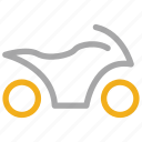 quad, transport, vehicle, wheeler icon