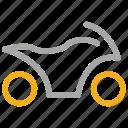 quad, transport, vehicle, wheeler icon