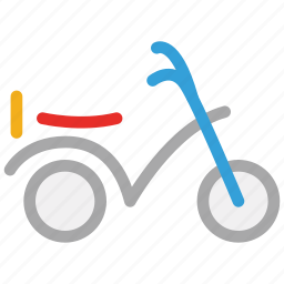 motor scooter, motorbike, motorcycle, scooter icon