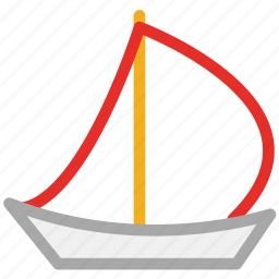 boat, sail, sail boat, yacht icon