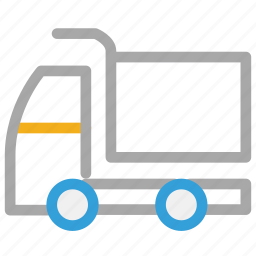 delivery truck, transport, travel, truck icon