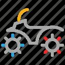 bike, motorbike, scooter, transport