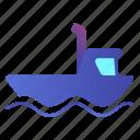 ship, tug, transport, boat icon