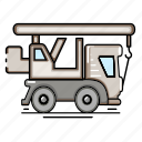 car, construction, transport, automobile