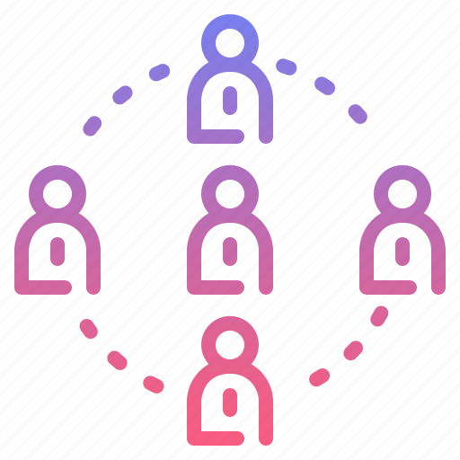 connection, meeting, team, teamwork icon