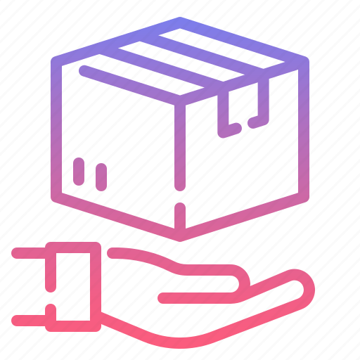 delivery, package, protect, shipping icon