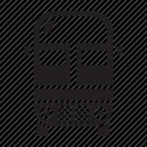 automobile, bus, car, coach bus, transit, transport, vehicle icon