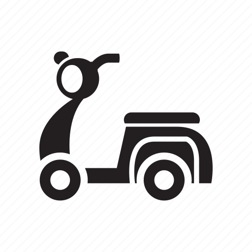 drive, motor, motorcycle, scooter, vehicle icon