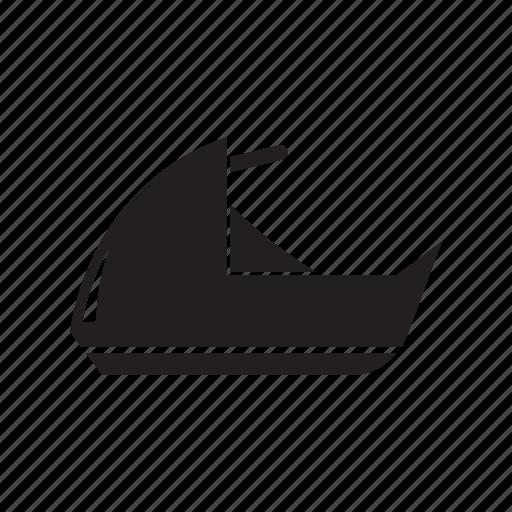 motorboat, speedboat, transport icon