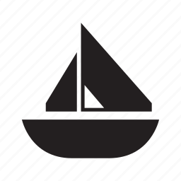 boat, sail, ship, transport icon