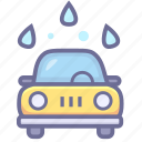 auto wash, car wash, wash icon