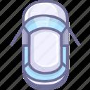 auto, car, car doors, open door icon