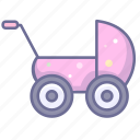 baby, baby auto, baby car icon