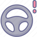 auto, steering, wheel icon