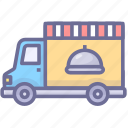 auto, food, food truck, truck icon