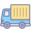auto, shipping, transport, truck icon