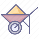 construction vehicle, engineering vehicle, project icon