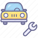 auto, car, car maintain, maintain, repair icon