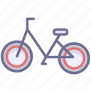 bicycle, bike, transport icon