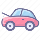 auto engine, car, car engine, engine icon