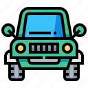 adventure, automobile, car, transport, transportation, vehicle icon