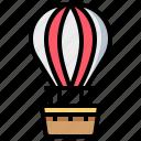 balloon, transport, transportation, vehicle icon