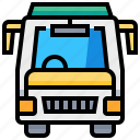 automobile, bus, car, transport, transportation, vehicle icon