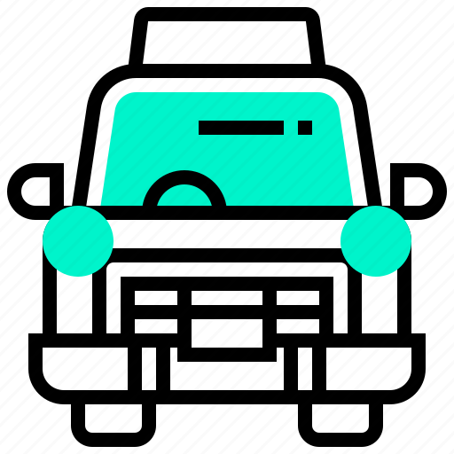 automobile, car, classic, taxi, transport, transportation, vehicle icon