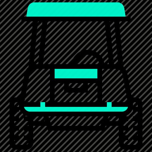automobile, car, golf, transport, transportation, vehicle icon