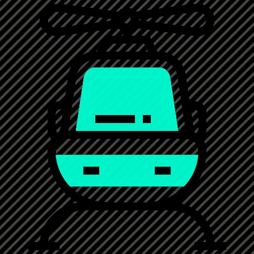 helicopter, transport, transportation, vehicle icon