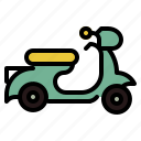 bike, motercycle, transport, transportation icon