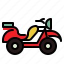 bike, motorcycle, quad, ransportation, transport icon