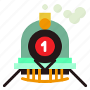 train, tramway, transport, transportation icon