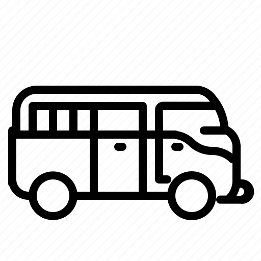 car, transport, transportation, van, volskwagen icon