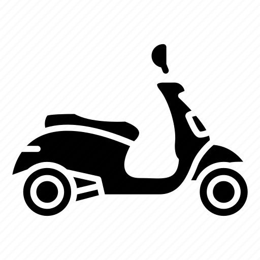 Bike, motorbike, motorcycle, scooter, transportation icon - Download on Iconfinder