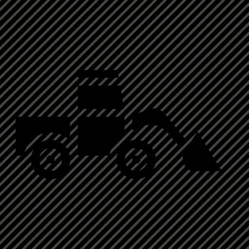 Bulldozer, construction, excavator, tools, truck icon - Download on Iconfinder