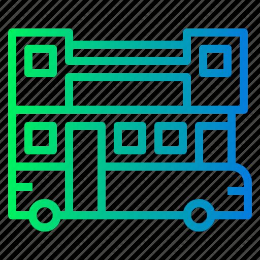 Automobile, bus, public, school, transport icon - Download on Iconfinder