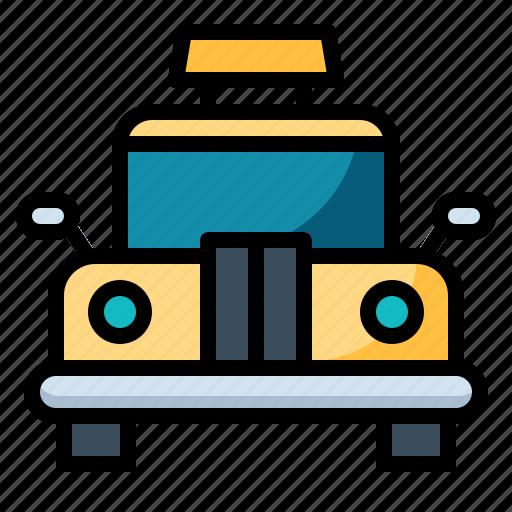 automobile, cab, taxi, transportation icon