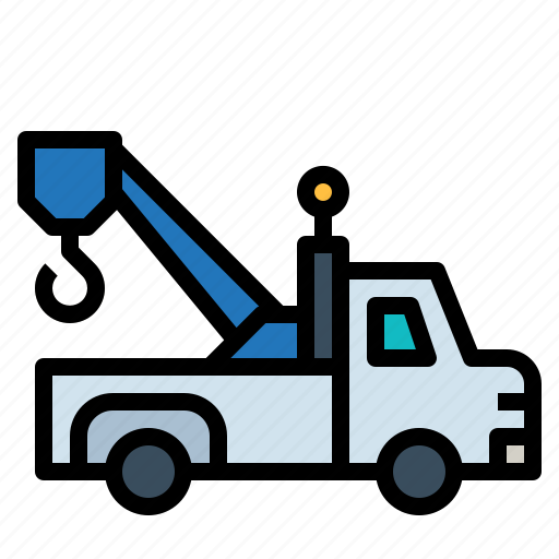 Breakdown, construction, tools, tow, transportation, truck icon - Download on Iconfinder