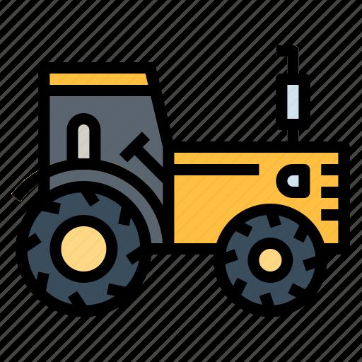 Engine, farm, farming, gardening, tractor icon - Download on Iconfinder