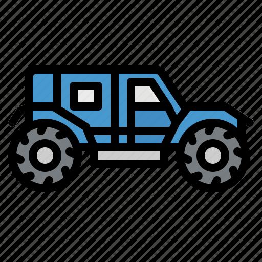 automobile, car, four, vehicle, wheel icon