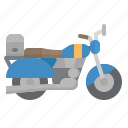 bike, motorbike, motorcycle, touring, transport icon