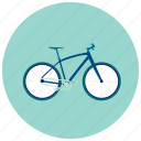 bike, energy, exercise, healthy, transportation icon