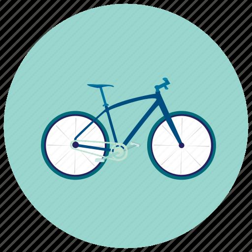bike, energy, exercise, healthy, transportation icon