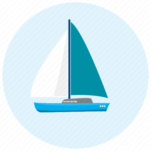 boat, lake, ocean, sea, transportation icon