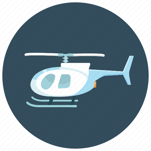 helicopter, loud, noise, speed, transportation, vehicle icon