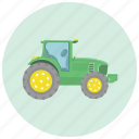 equipment, farm, farmer, tractor, transportation icon