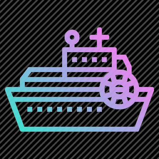 Boat, leisure, navigation, ship, transport icon - Download on Iconfinder